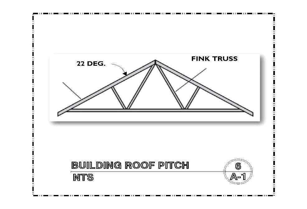 DETAIL-A-6 ROOF PITCH