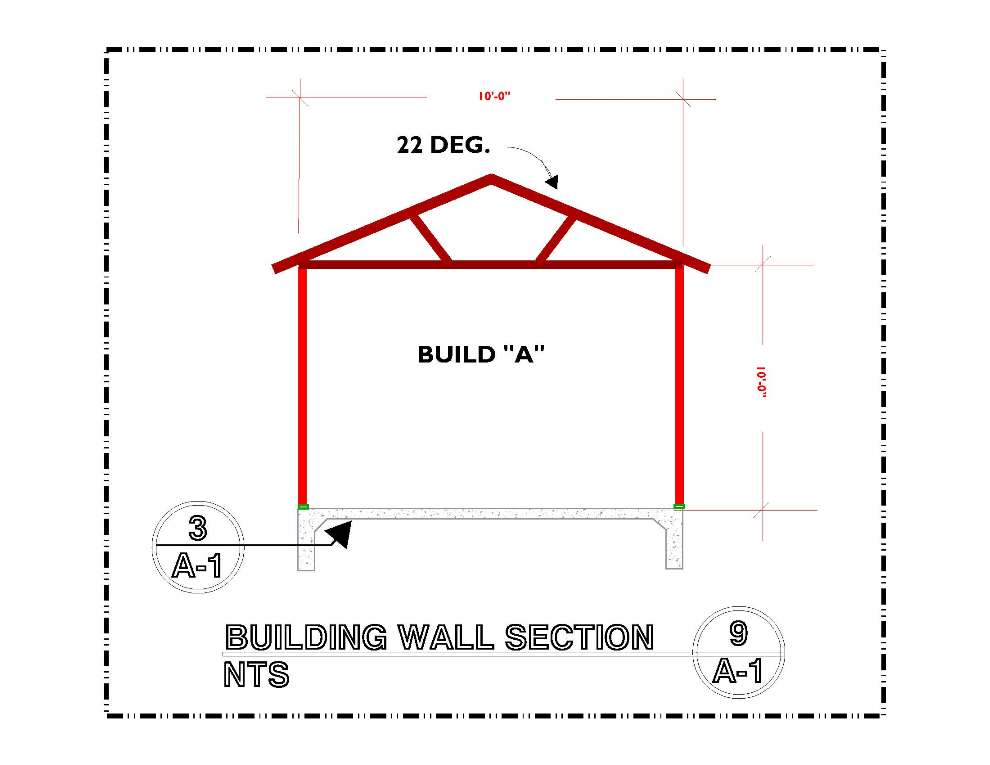 DETAILS-A-9 BUILDING WALL SECTION