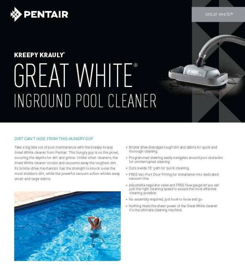 Pentair GREAT-WHITE