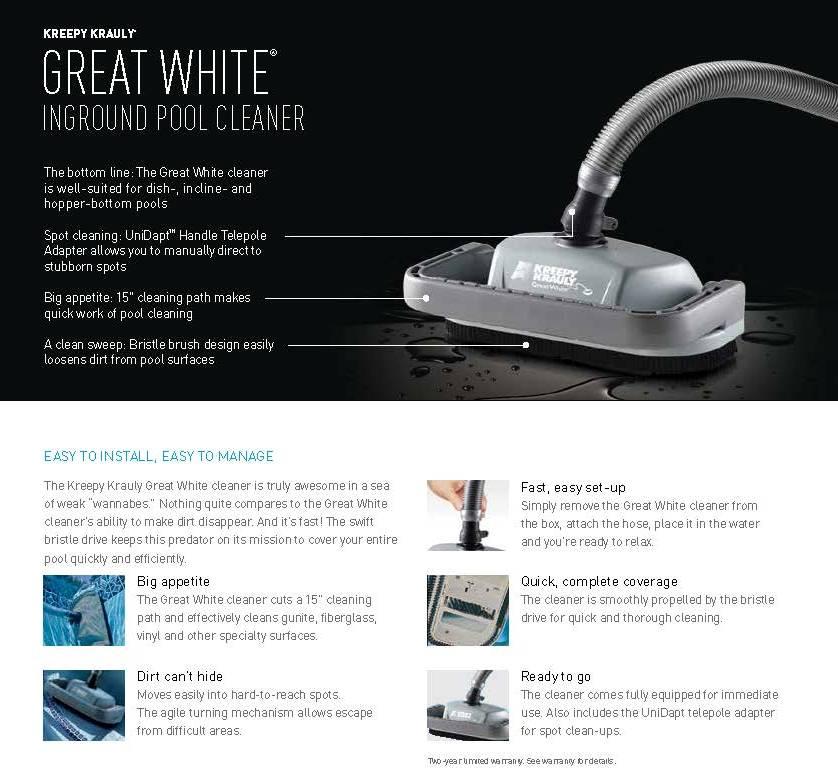 Pentair GREAT-WHITE