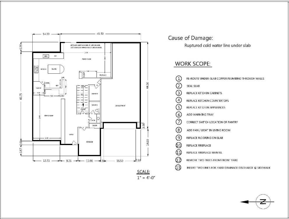 Sheet Rm 1 House Remodeling Plans Aquatic Mechanical Engineering 800 766 5259