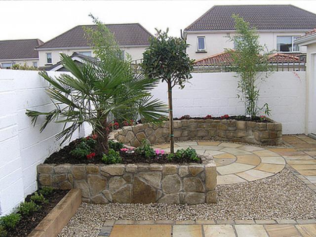 Raised Planter Area