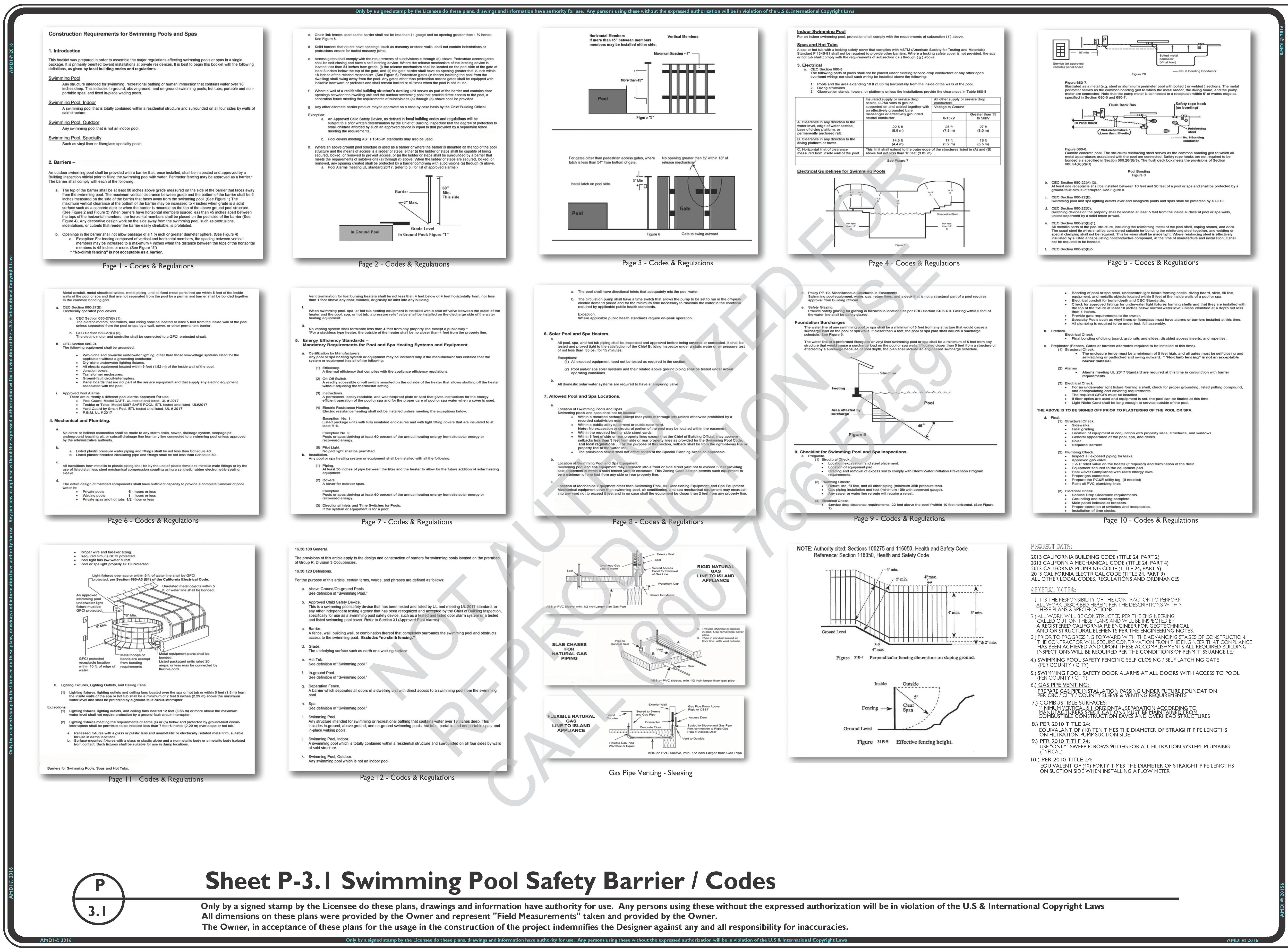 P-3.1 Safety Barriers / Codes