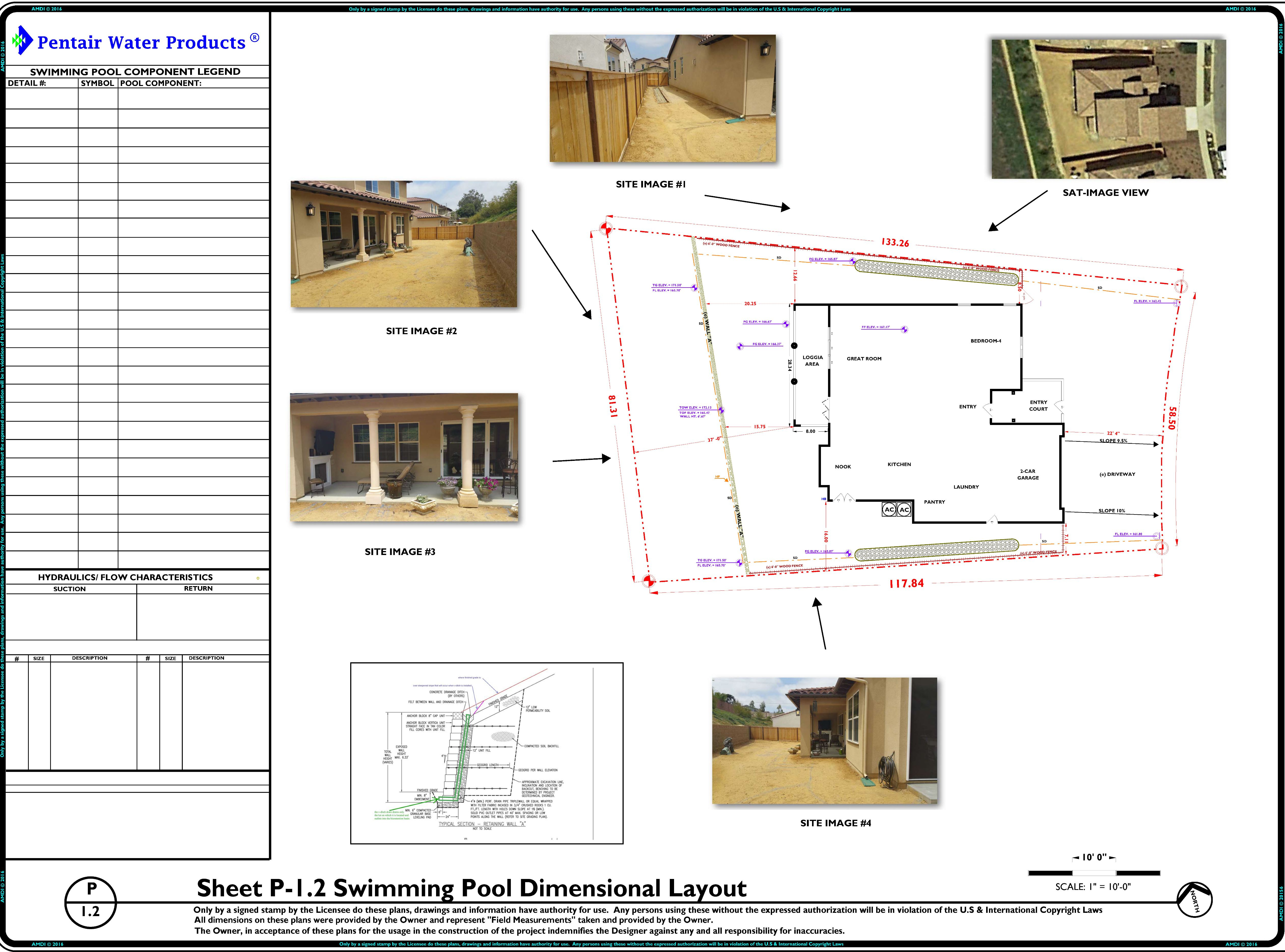 Sample 18 aquatic mechanical engineering 800 766 5259 for Swimming pool plan layout