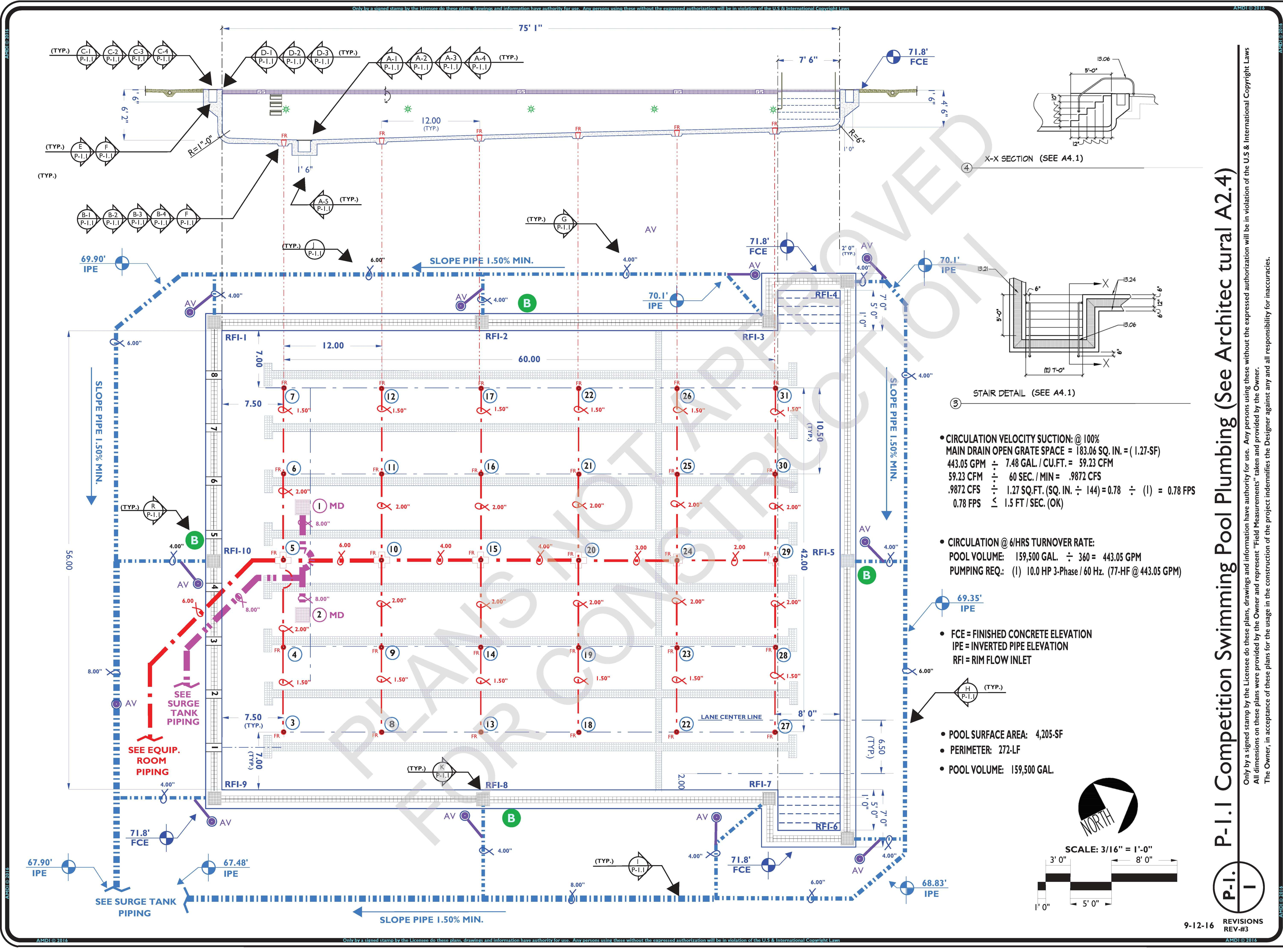 Piping Layout Plan Wiring Library Autocad Preliminary P 11 Competition Pool