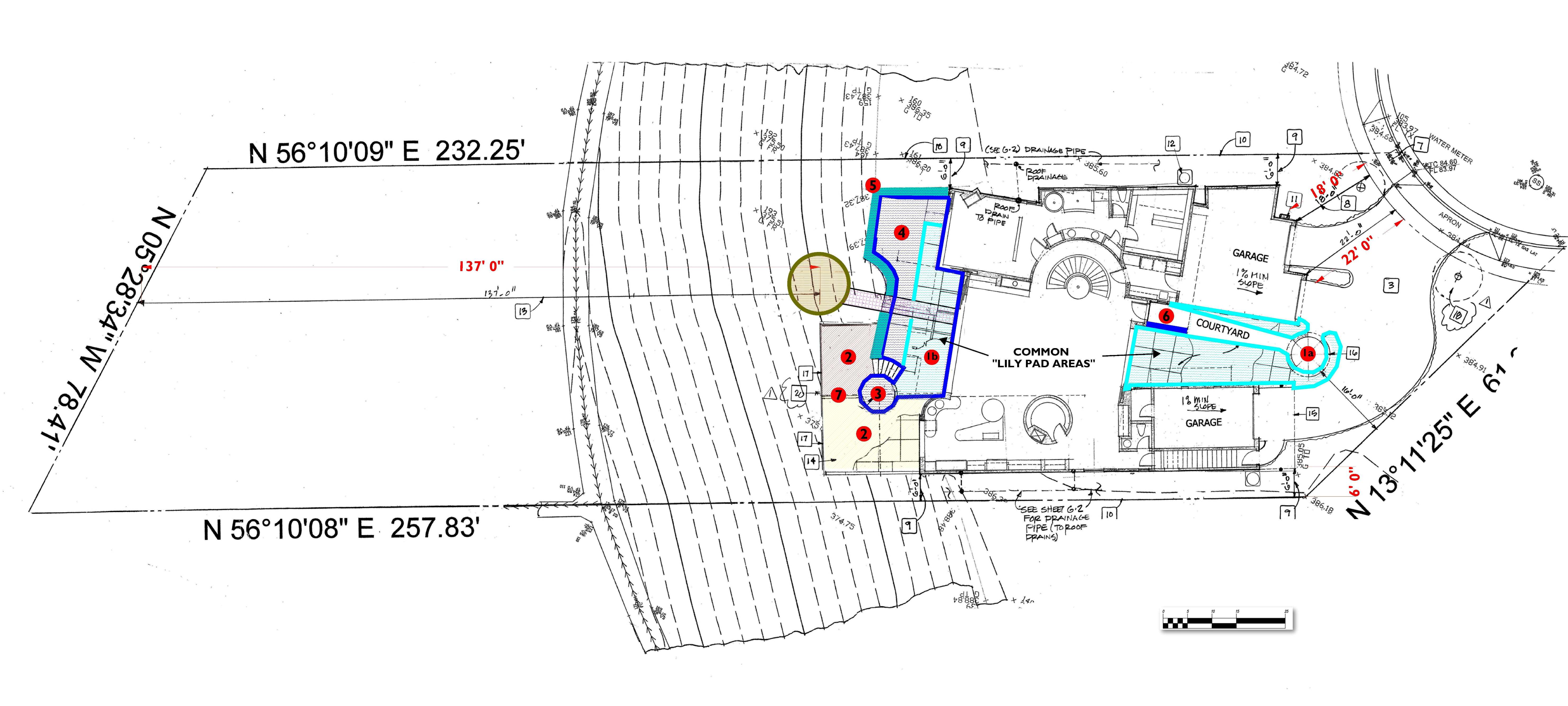 Sample of The Preliminary P-4 Site Plan Dimensional Layout