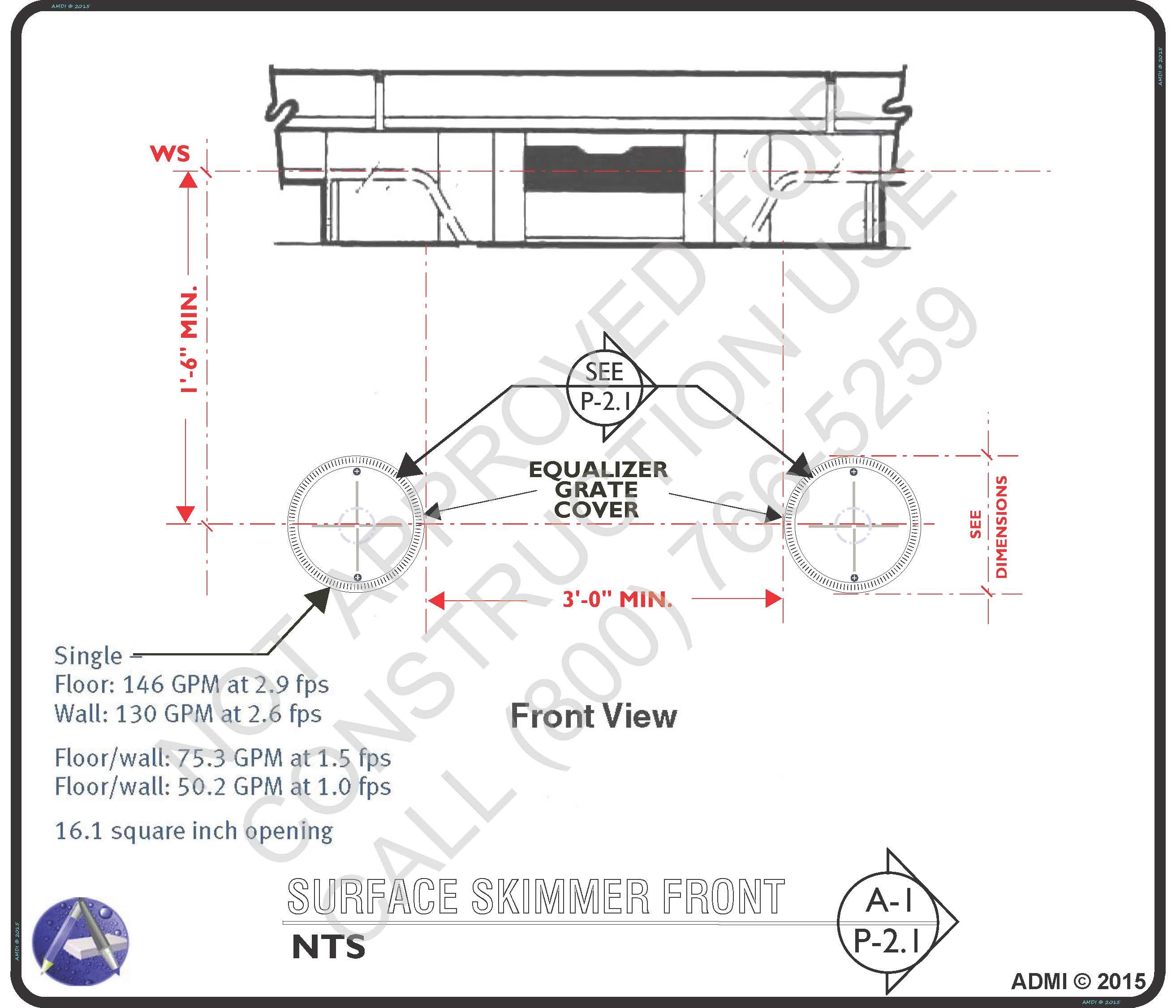 Surface Skimmer Equalizer