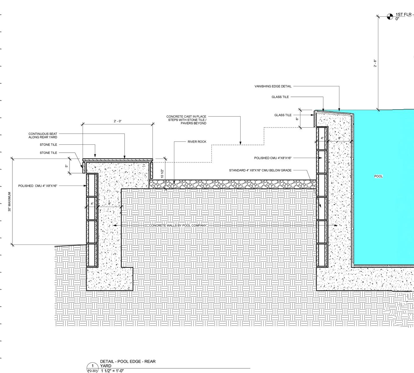 Sheet P2-301 Detail 1