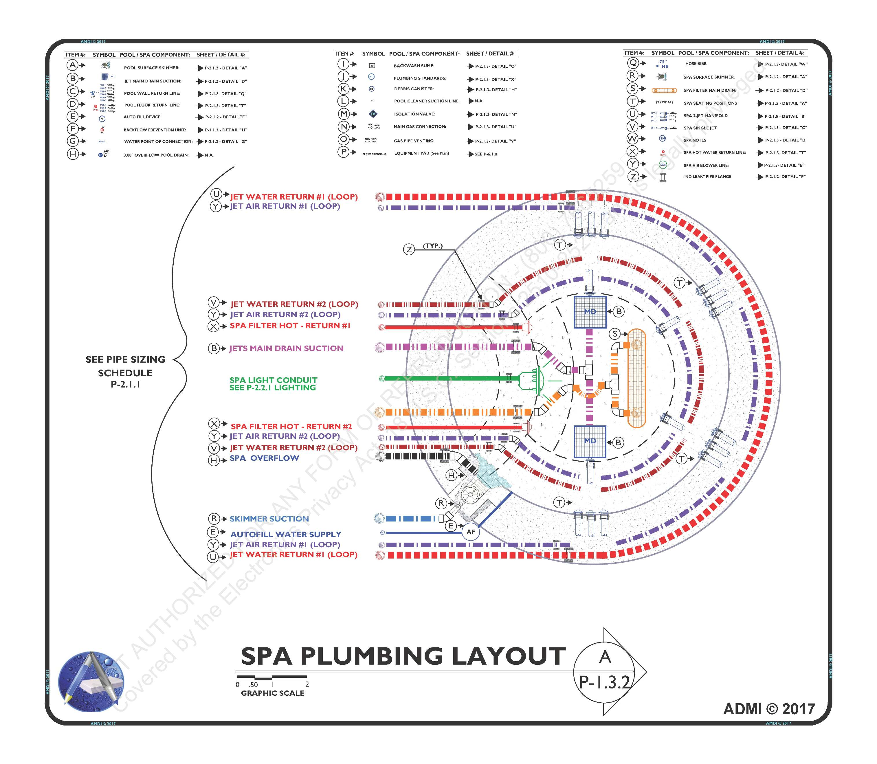 SPA PLUMBING LAYOUT