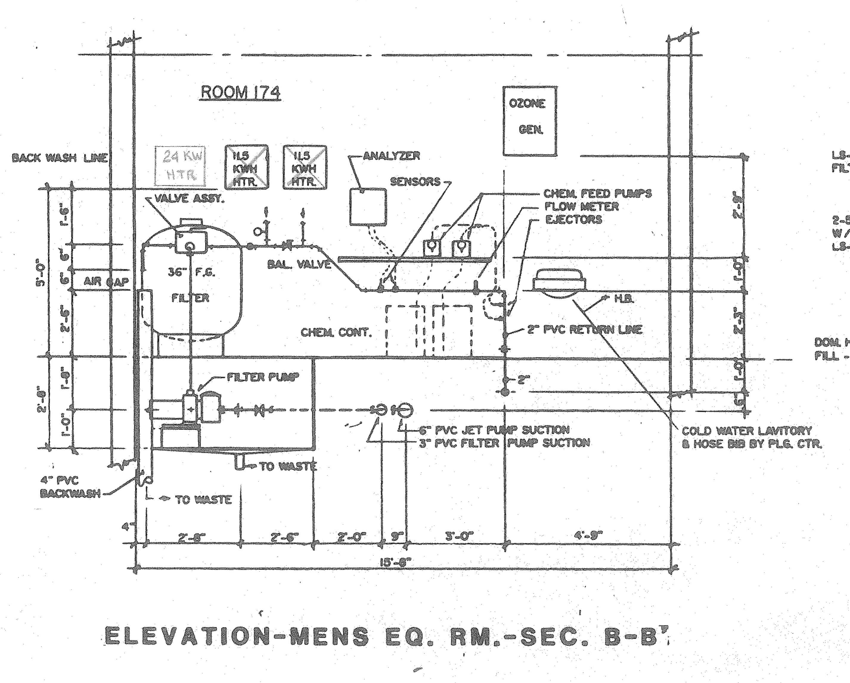 ELEVATION SECTION B-B KIVA SPA-008
