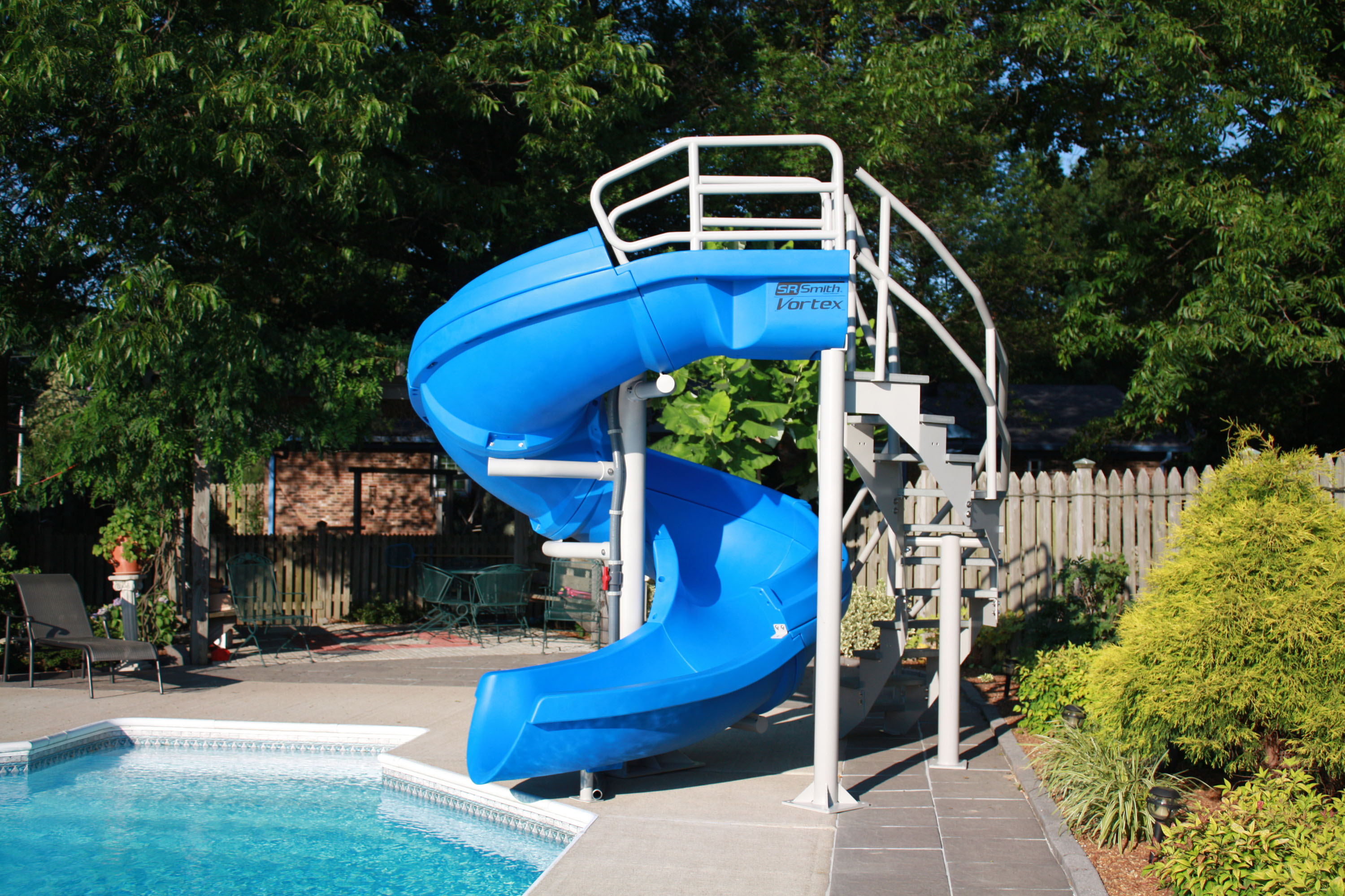 Residential Water Slide