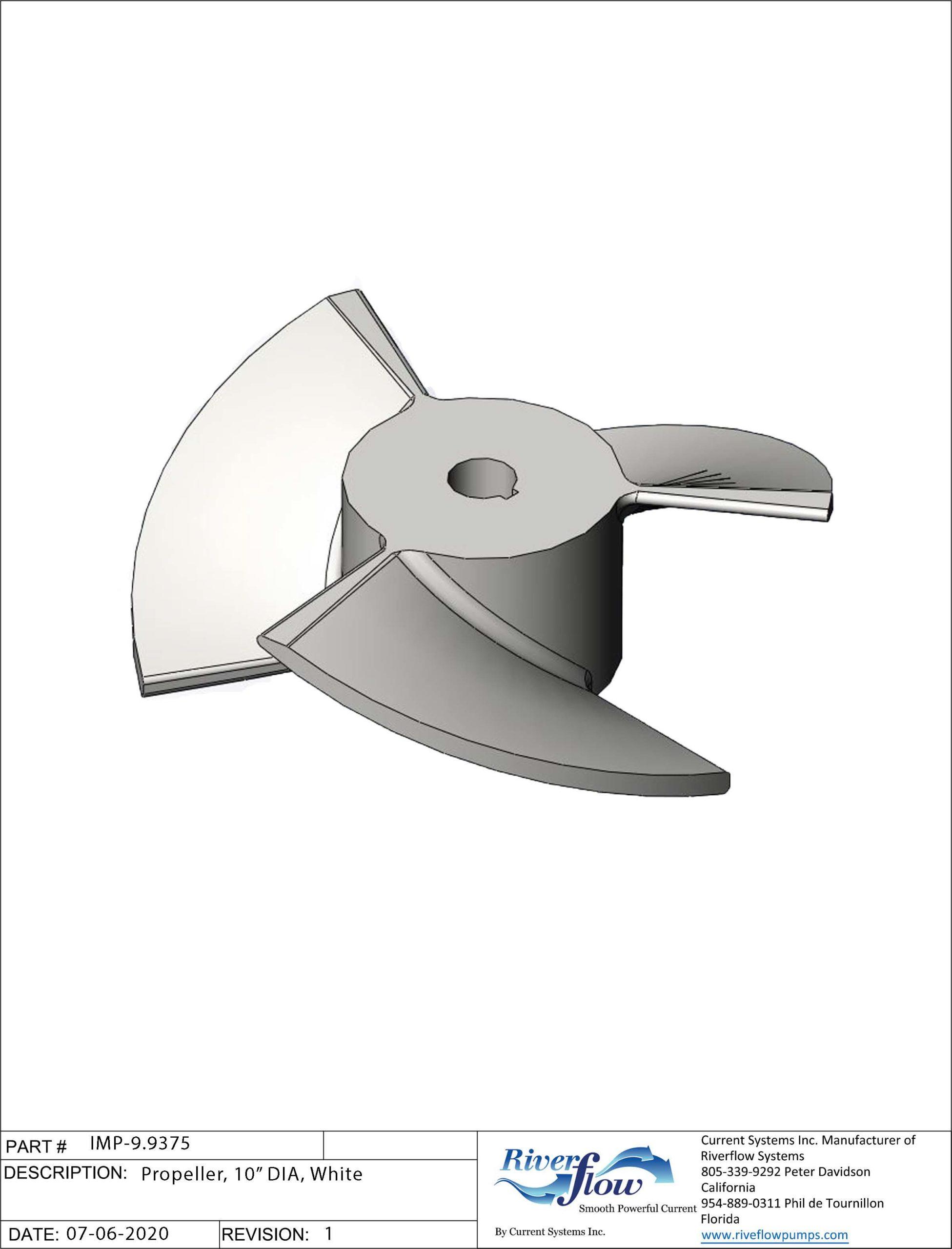 PN#: IMP-9.9375  Propeller, 10